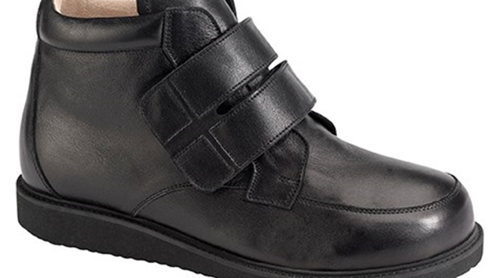 3395.9800 Piedro Mens Diabetic Boots Black Leather Velcro.jpg