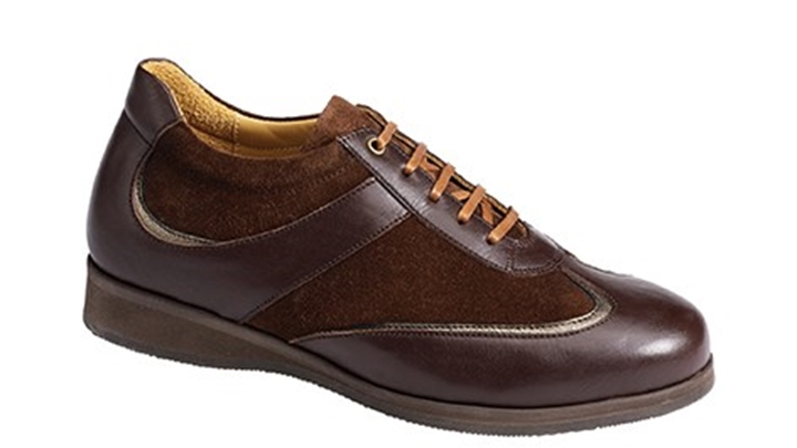 3461.1500 Piedro Womens Dress Shoes Brown Leather & Nubuck Lace.jpg