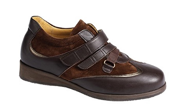 3471.1500 Piedro Womens Dress Shoes Brown Leather & Nubuck Velcro.jpg