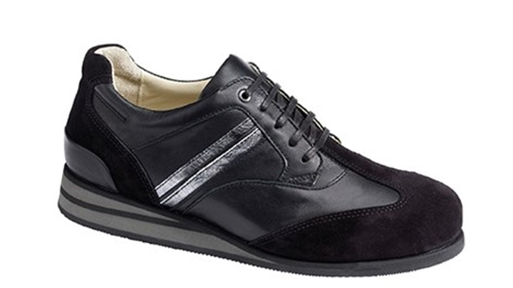 3630.9836 Piedro Womens Sports Shoes Black Combination Lace.jpg