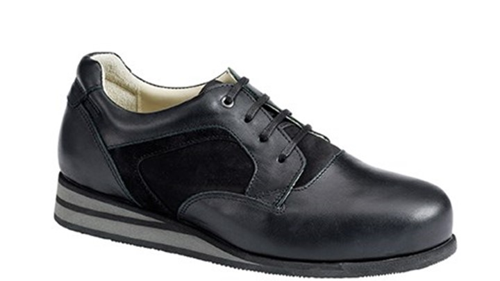 3650.9800 Piedro Womens Casual Shoes Black Combination Lace.jpg