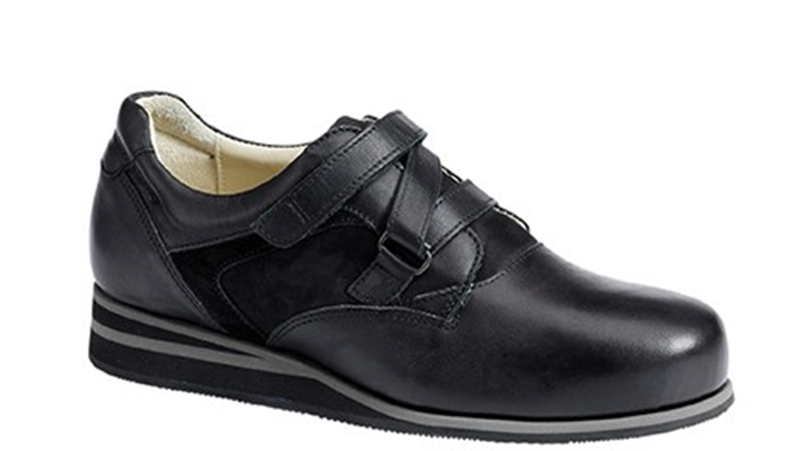 3651.9800 Piedro Womens Casual Shoes Black Combination Velcro.jpg