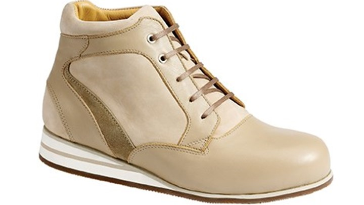 3660.1600 Piedro Womens Casual Boots Taupe Combination Lace.jpg