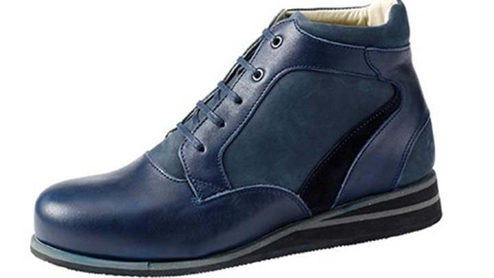 3660.5600 Piedro Womens Casual Boots Blue Combination Lace.jpg