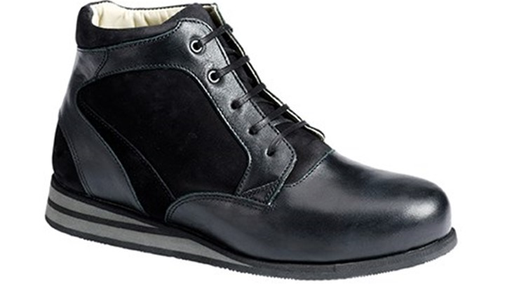 3660.9800 Piedro Womens Casual Boots Black Combination Lace.jpg