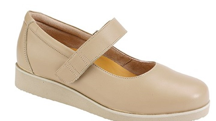 3370.1600 Piedro Laides Diabetic Shoes Taupe Velcro.jpg