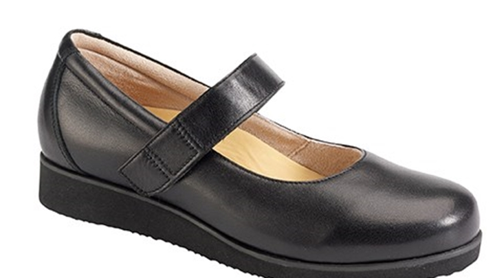 3370.9800 Piedro Ladies Diabetic Shoes Black Velcro.jpg